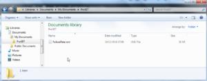 Custom Data Folder